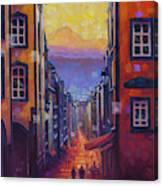 Rue des Gras Canvas Print