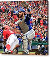 Russell Martin and Ian Desmond Canvas Print