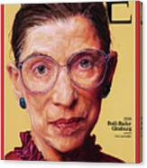 Ruth Bader Ginsburg, 1996 Canvas Print