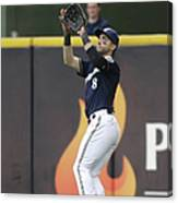 Ryan Braun and Howie Kendrick Canvas Print
