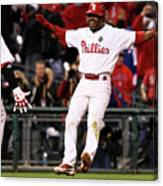 Ryan Howard and Jimmy Rollins Canvas Print