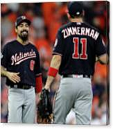 Ryan Zimmerman and Anthony Rendon Canvas Print