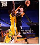 Sacramento Kings v Golden State Warriors Canvas Print