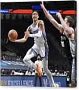 Sacramento Kings v San Antonio Spurs Canvas Print