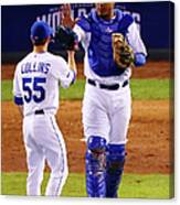 Salvador Perez Canvas Print