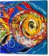 San Antonio Fish Canvas Print