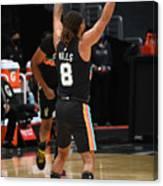 San Antonio Spurs v LA Clippers Canvas Print