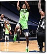 San Antonio Spurs v Minnesota Timberwolves Canvas Print