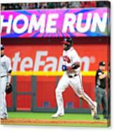 San Diego Padres v Atlanta Braves Canvas Print