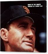 San Francisco Giants Manager Alvin Dark, 1963 All Star Game Sports Illustrated Cover Canvas Print