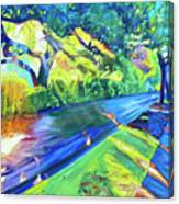 Shade and Sunshine Canvas Print
