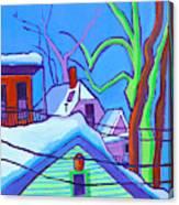 Sheffield Winter Canvas Print