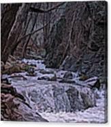 Sleepy Hollow Creek Canvas Print