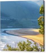 Sonabia Beach In Cantabria Canvas Print