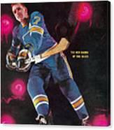 St Louis Blues Gordon Berenson Sports Illustrated Cover Canvas Print