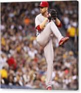 St Louis Cardinals v Pittsburgh Pirates Canvas Print