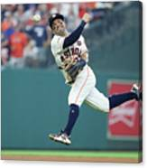 Starlin Castro Canvas Print