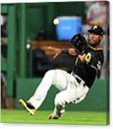Starling Marte and Anthony Rendon Canvas Print