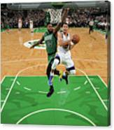 Stephen Curry and Gerald Green Canvas Print