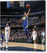 Stephen Curry Canvas Print