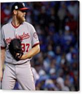 Stephen Strasburg Canvas Print