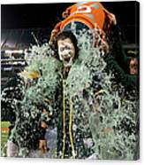 Stephen Vogt, Josh Reddick, and Billy Butler Canvas Print