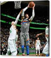 Steven Adams Canvas Print