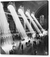Sun Beams Into Grand Central Station Canvas Print