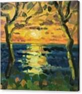 Sunrise at Jupiter 2019 Canvas Print