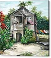 Sweet Island Life  Canvas Print