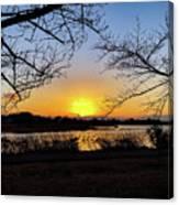 Tatebayashi Sunset Canvas Print