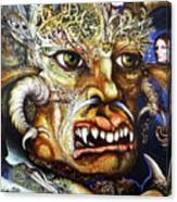 The Beast Of Babylon II Canvas Print