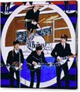 The Beatles - Live On The Ed Sullivan Show Canvas Print