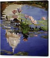 The Dome - Water Lilies Canvas Print