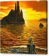 The Golden Girl Canvas Print