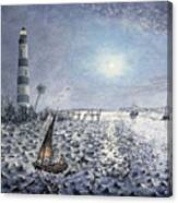 The Gullah Fisherman Canvas Print