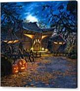 The House At Dead End Canvas Print