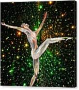 The Light Fantastic Dance and Stars Canvas Print