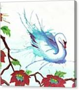 The Messanger Canvas Print