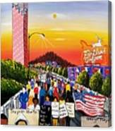 The Movement Canvas Print