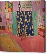The Pink Studio Canvas Print