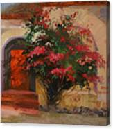 The Red Door - Catalina Island Canvas Print