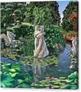 The Romance Garden Canvas Print