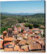 The Town Of Bejis In Castellon Canvas Print