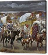 The Trail Of Tears Canvas Print
