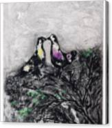The Two Pigeons Canvas Print
