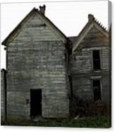 There Was A Crooked House Canvas Print