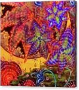 Thunder Flower Canvas Print