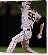 Tim Lincecum Canvas Print
