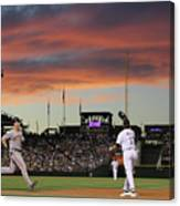Todd Helton and Buster Posey Canvas Print